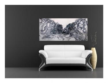 ציורים ציורי אוירה ציורים יפים ציור בשחור לבן ציור שמן
