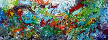 תמונות לסלון, ציור צבעוני, גלריית תמונות ציורים לסלון