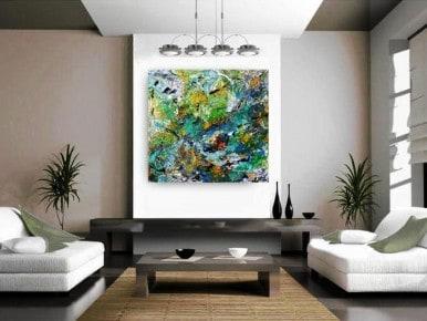 ציורי אוירה, תמונות לסלון