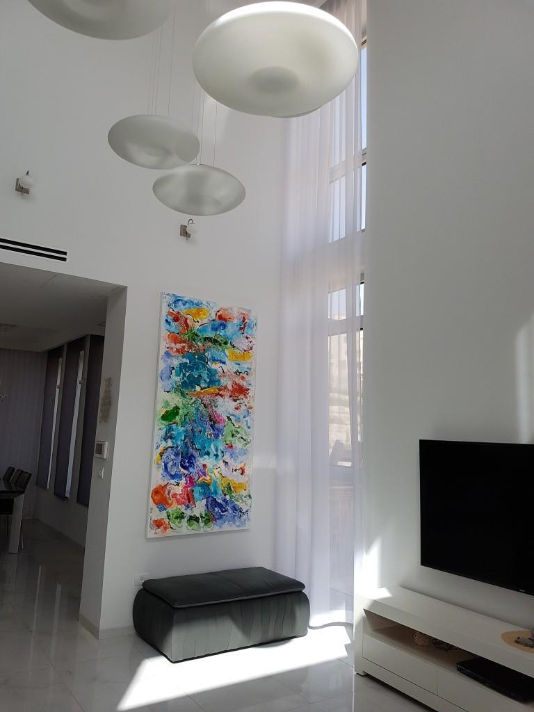 ציורים לסלון מודרני