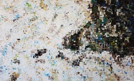 הציור מצויר בשכבות של צבעי שמן, ציור קלאסי שקט ומהמם ביופיו.