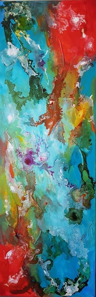 ציור צבעוני ומהפנט , מחייה ומשמח כל פינה בו יתלה .