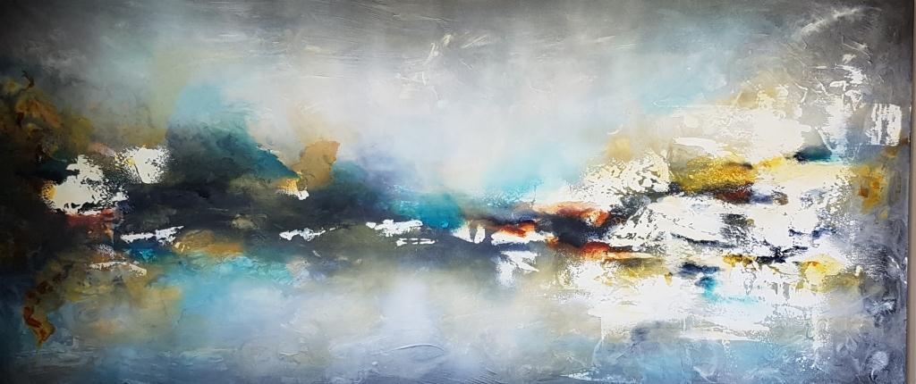 ריבה יחזקאל ציורים, ציורי אוירה, ציורים לסלון מודרני, ציור, abstract paintings, ציור אבסטרקט, תמונה לסלון